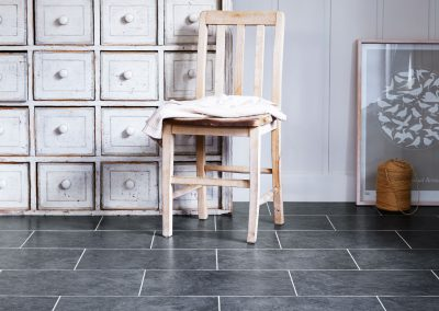 Amtico Spacia Flooring Monmouth Slate in Broken Bond laying pattern