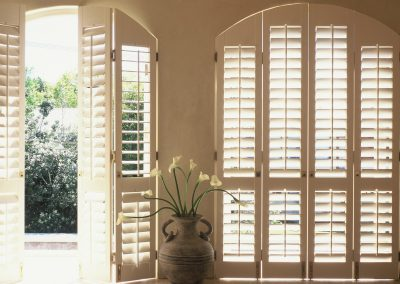 Wooden Arched Window Shutters