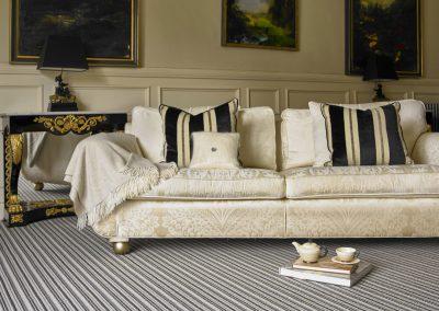 Brockway Carpets Portofino Grigio Stripe