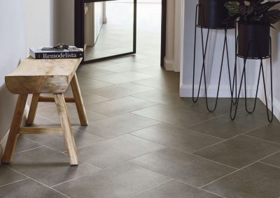 Amtico Spacia Flooring Ceramic Sable in Herringbone