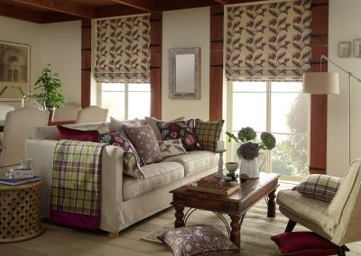 Arts And Crafts Roman Blinds Thistle