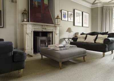 Brockway Carpets Natural Tweed Herringbone Loop