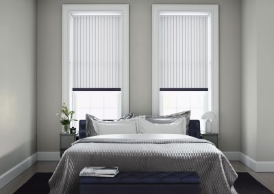Kensley Sky Striped Roller Blinds