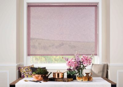 Roller Blind Linen Elderberry
