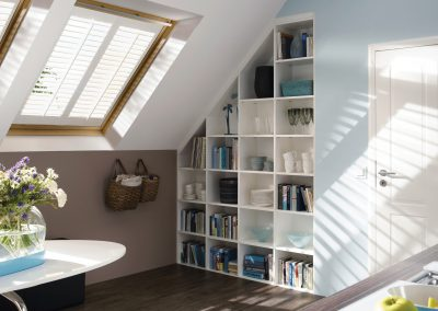 Wooden Skylight Shutters